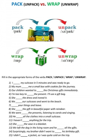 PACK vs. WRAP