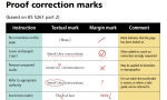 AJ - Correction proofmarks